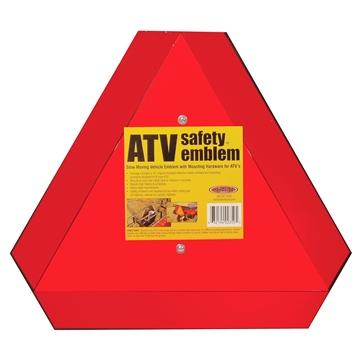 HARDLINE PRODUCTS Reflective Safety Emblem Placard