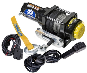 SUPERWINCH Black Winch LT4000ATV SR (Synthetic Cable)