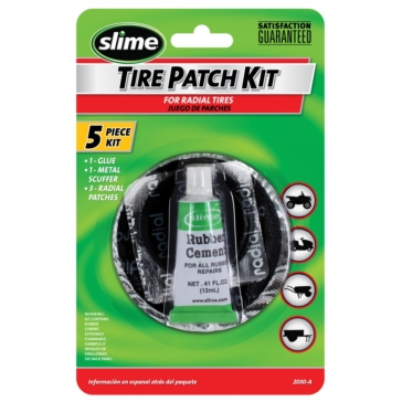 SLIME Patch Kit Tire With Glue