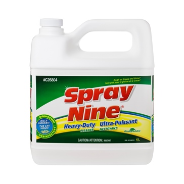 Spray Nine Cleaner/Degreaser/Disinfectant 4 L / 1.05 G