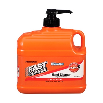 PERMATEX Nettoyant à mains lotion pierre ponce - Fast Orange 1.89 L / 0.26 G