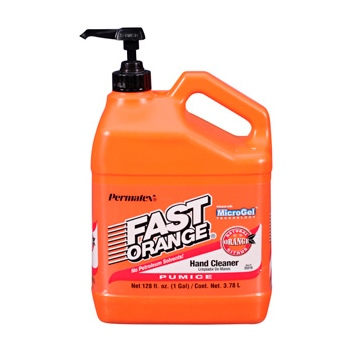 PERMATEX Nettoyant à mains lotion pierre ponce - Fast Orange 3.78 L / 0.79 G