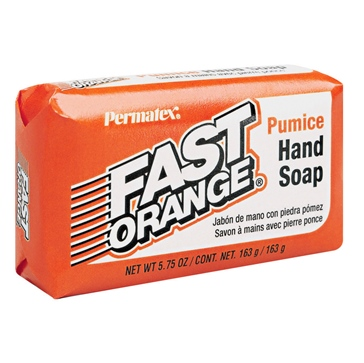 PERMATEX Fast Orange Pumice Bar Soap