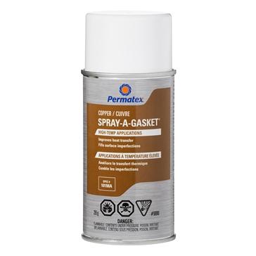 PERMATEX Scellant haute température Spray-A-Gasket Cuivre