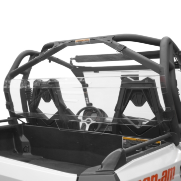 Rear - Quick release mount / Fixed KIMPEX UTV Rear Windshield