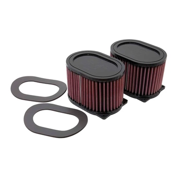 Oval K&N Air Filters for Stock Airbox