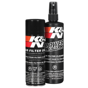 K&N Air Filter Oil and Cleaning