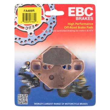 "EBC  ""R"" Long Life Sintered Brake Pad Sintered Metal Pads - Rear"