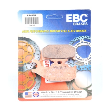 "EBC  ""R"" Long Life Sintered Brake Pad Long life Sintered Metal - Front"