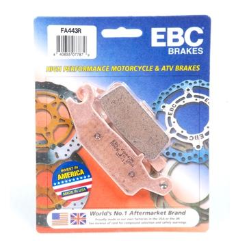 """EBC  """"R"""" Long Life Sintered Brake Pad Sintered metal - Front"""