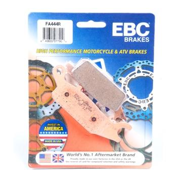 """EBC  """"R"""" Long Life Sintered Brake Pad Long life Sintered Metal - Front"""