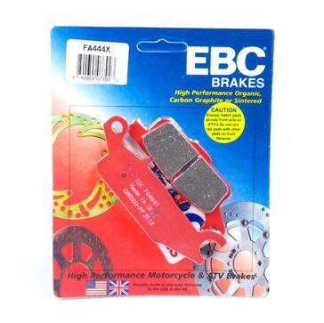 "EBC  ""X"" Carbon Graphite Brake Pad Carbon graphite - Front"