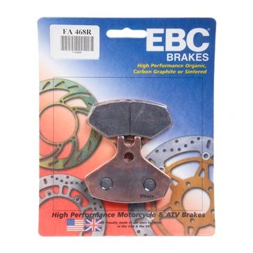 Plaquette de frein en métal solidifié longue durée de série « R » EBC  Métal solidifié longue durée