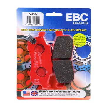 "EBC  ""X"" Carbon Graphite Brake Pad Carbon graphite - Front"