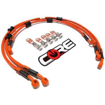 Ensemble de lignes de freins série MX CORE MOTO