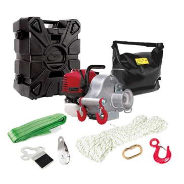 PORTABLE WINCH Gas-Powered Portable Capstan Winch Assortment