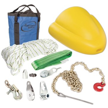 "PORTABLE WINCH Skidding Cone Assortment Up to 51 cm (20"") diameter"
