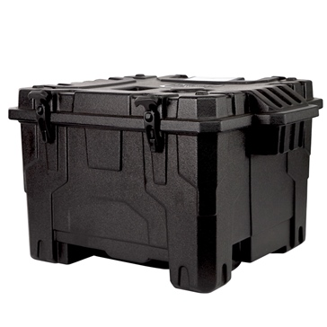 PORTABLE WINCH Transport Case with Molded Shapes for 078037 Winch & Accessories