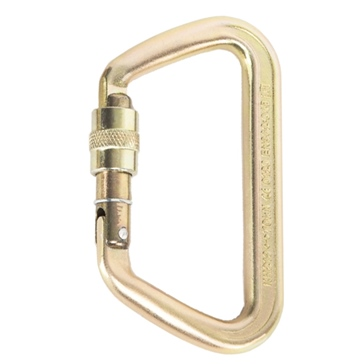 PORTABLE WINCH Heavy Duty Steel locking carabiner