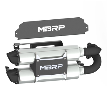 MBRP Powersports Muffler Performance Fits Polaris
