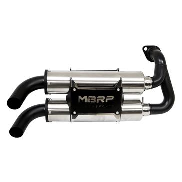MBRPPOWERSPORTS Muffler Performance Polaris - Stainless steel, Aluminium