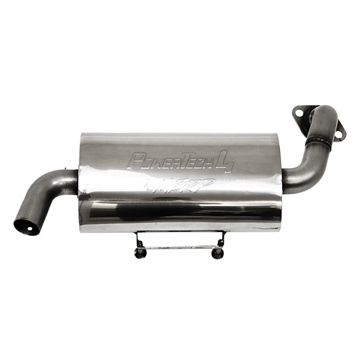 MBRPPOWERSPORTS PowerTech 4 Slip-on Exhaust Polaris - Stainless steel