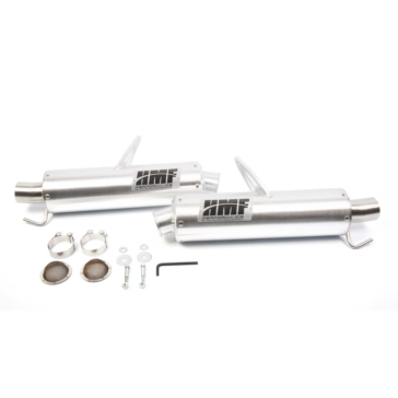 HMF Performance PERFORMANCE Series Slip-on Exhaust Fits Can-am - Center mount