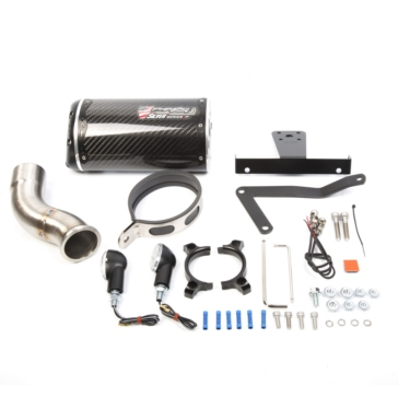 Two Brothers Racing M2 Silver Series Slip-on Exhaust Fits Kawasaki