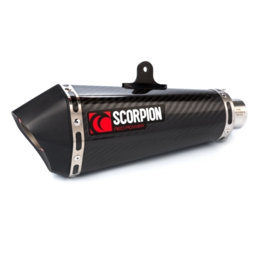 SCORPION Serket parallel Slip-On Exhaust Yamaha