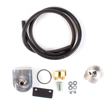 HMF Performance Oil filter Relocation Kit 090858