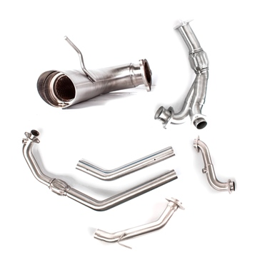 HMF Performance Race Pipe Systems Can-am - Center mount