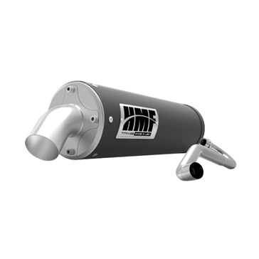 HMF Performance TITAN XL Series Complete Exhaust Fits Textron - Center mount