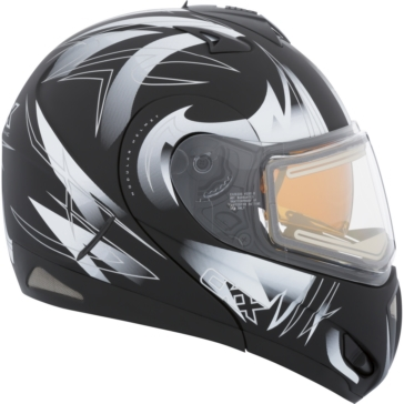RSD Blast - Electric Double Shield CKX Tranz RSV - Modular Helmet, Winter