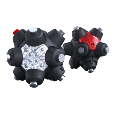 Red RISK RACING Light-Mine Professional