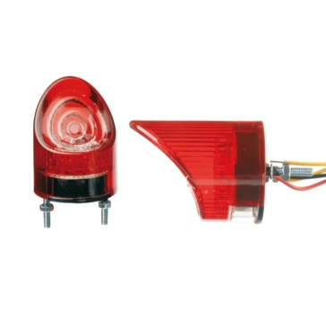 Tail Light, License Plate Light CHAFT Half LED Tail Light