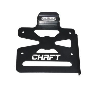 Support de plaque d'immatriculation latérale pour Harley-Davidson CHAFT