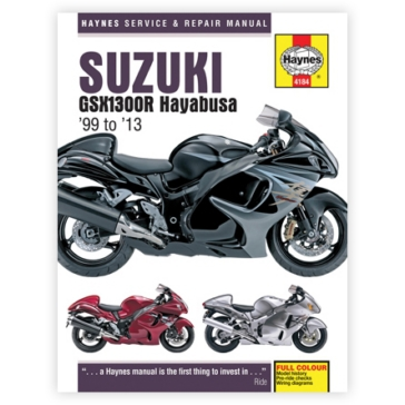 117023 HAYNES Suzuki GSX1300R Hayabusa Manual
