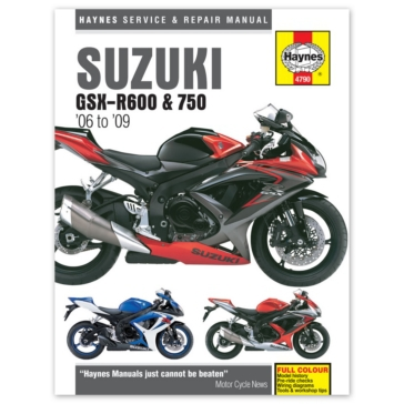Manuel du Suzuki GSX-R600 et 750 CLYMER M4790