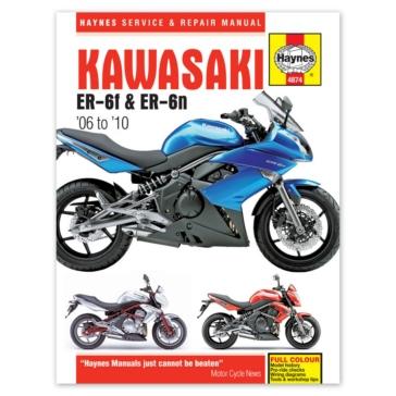 M4874 CLYMER Kawasaki EX650 and ER650 Manual