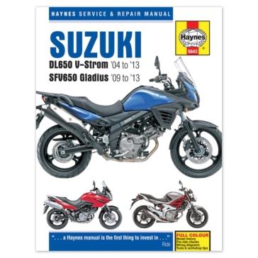 M5643 CLYMER Suzuki DL650 V-Strom et SFV650 Gladius Manual