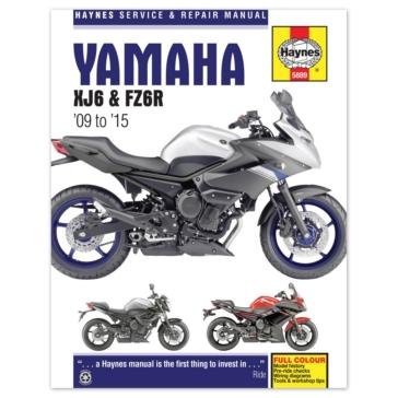 Manuel du Yamaha FZ6R et XJ6 CLYMER M5889