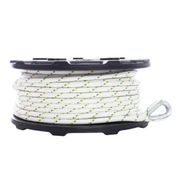 PORTABLE WINCH Corde de treuil en polyester double tressé 100 m - 3300 kg