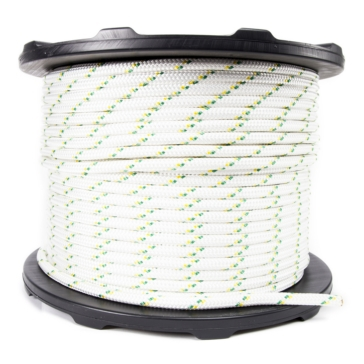 PORTABLE WINCH Double Braided Polyester Winch Rope 200 m - 3300 kg