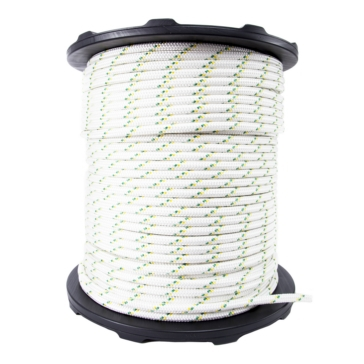 PORTABLE WINCH Double Braided Polyester Winch Rope 300 m - 3300 kg