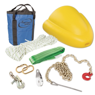 PORTABLE WINCH Hunting Accessories Kit for PWC3000 Winch 50 m
