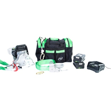 PORTABLE WINCH PCW3000-Li Winch with Complete Accessories
