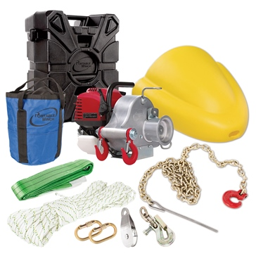 Portable Winch PCW3000 Winch Forestry Kit