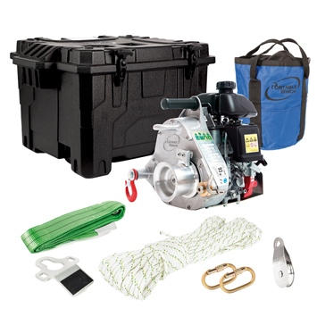 Portable Winch Pulling Winch PCW3000-LI - Hunting Kit