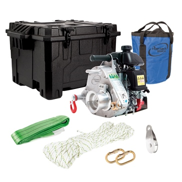Portable Winch Pulling Winch PCW5000 Garden Kit