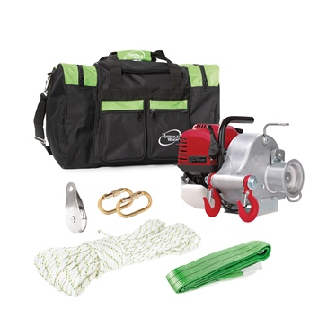 Portable Winch Pulling Winch PCW3000 Garden Kit